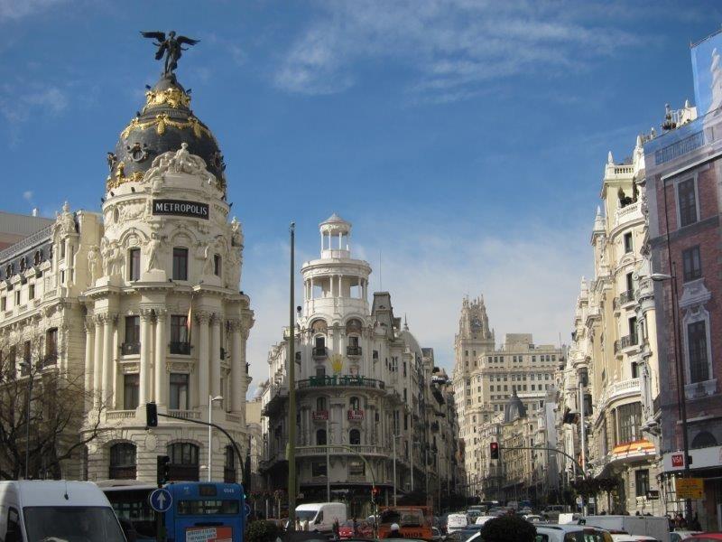 La Gran Vía: une promenade dans le XX siècle