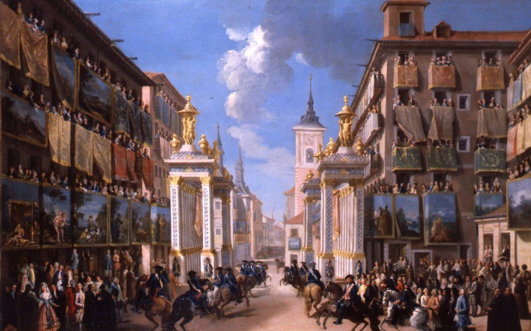 El poder de los Borbones: el barrio del palacio