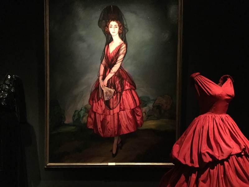 """Exposición: """"Balenciaga y la pintura española"""""""
