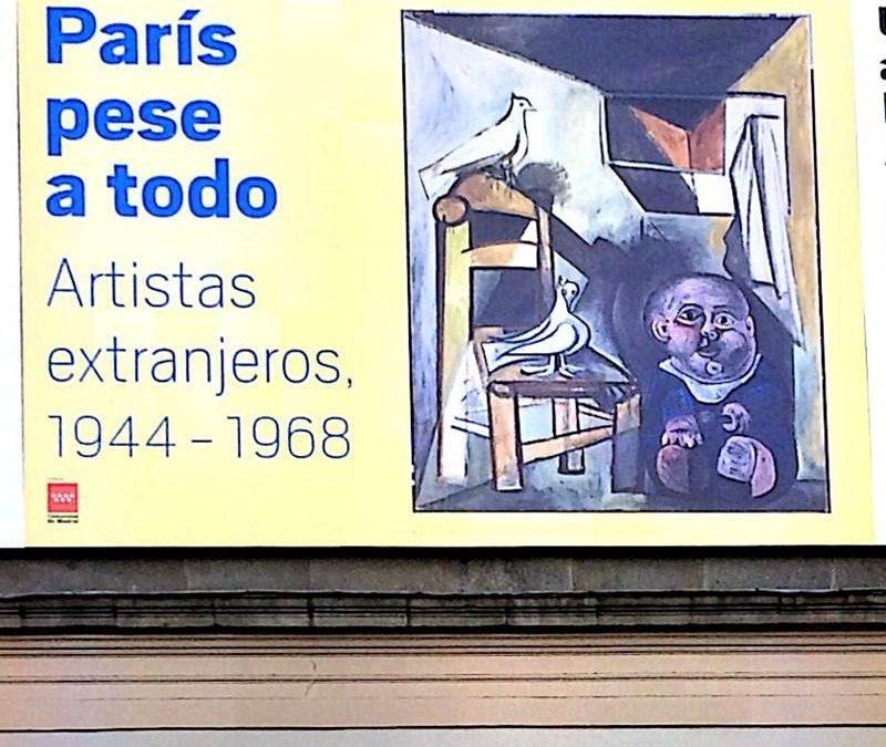 """Se presenta """"París pese a todo. Artistas extranjeros 1945-1968"""""""