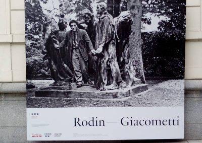 """Exposition: """"Rodin-Giacometti"""""""