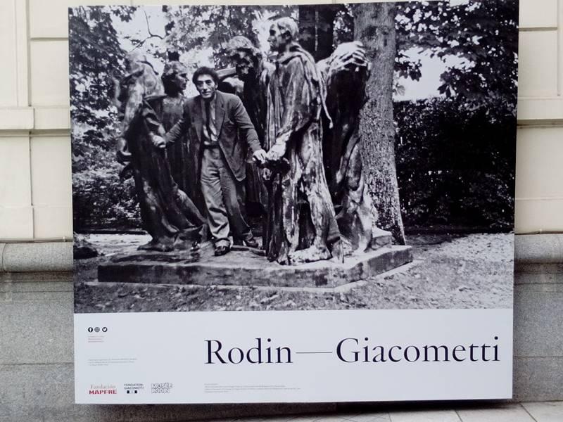 """Exposición: """"Rodin-Giacometti"""""""
