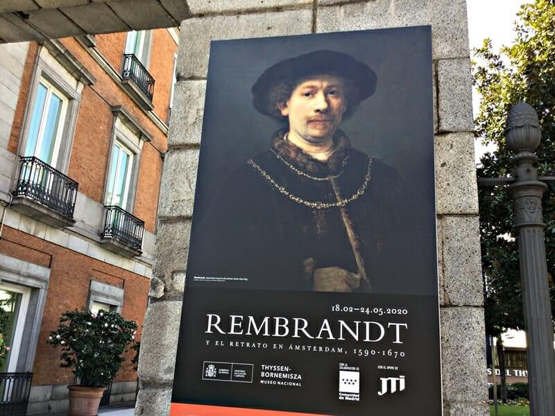 El Thyssen recrea la dura competencia en Amsterdam entre Rembrandt y sus rivales retratistas