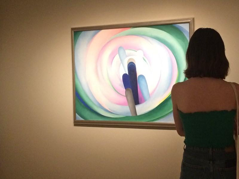 Georgia O'Keeffe florece en Madrid