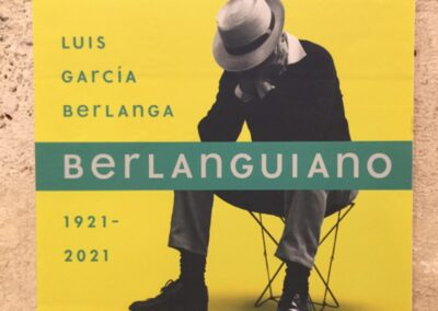 "Exhibition: ""Berlanguiano. Luis García Berlanga (1921-2021)"""